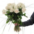 Stock Photo: A bouquet of flowers for you