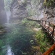 River, Canyon Vintgar, Triglav - Slovenia - Stock Photo