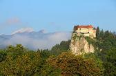 Castello di bled, alpi, slovenia. — Foto Stock