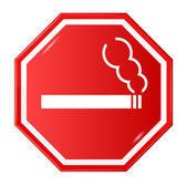 "Vector sign ""Smoking Allowed"" — Stock Vector"