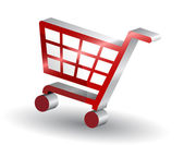 Shopping basket — Stockvector