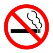 do not smoke — Stock Vector