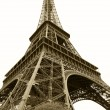 Stock Photo: Eiffel tower, Paris, France, view from below
