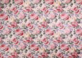 Rose design Seamless pattern on fabric as background — Stock Photo