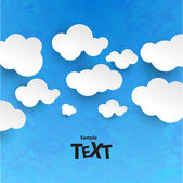 Clouds texture — Stock Vector