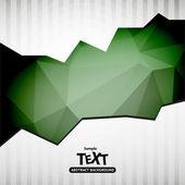 Fondo con polígono triángulo — Vector de stock