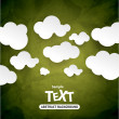 Abstract speech bubbles in the shape of clouds — Stock Vector #51192529
