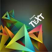 Geometric background. — Stock Vector