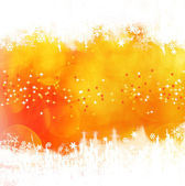 Orange winter background — Stock fotografie