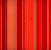 Striped fabric with red and brown colours — Stock Photo