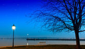 Balaton lake — Stock Photo