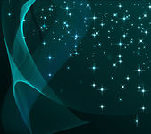 Background with stars and with abstract glowing — Stock Photo