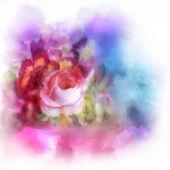 κόκκινα και ροζ τριαντάφυλλα — Φωτογραφία Αρχείου