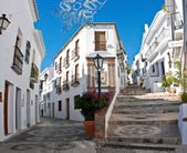 Spain - Frigiliana is a town in the province of Malaga — Stock Photo