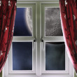 Moon through a window — Stock Photo #14712863