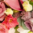 Stock Photo: Old fashioned flower arrangement