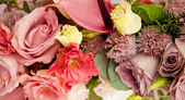 Old fashioned flower arrangement — Stock Photo