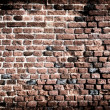 Old brick wall grunge background — Foto de Stock