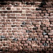 Old brick wall grunge background — Stock fotografie
