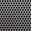 Stock Photo: Metal grill dot pattern