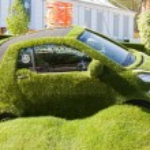 Chelsea Flower Show - The Easibug Car — Stock Photo #23945377