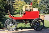 Exbury Gardens steam car — Stock Photo