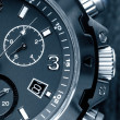 Foto Stock: Mens watch close up