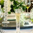 Wedding table display — Stock Photo