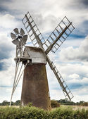 Windmill in Norfolk UK — Stock Photo