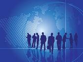 Business presentation concept — Stock Vector