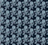 Abstrakt blommönster — Stockvektor