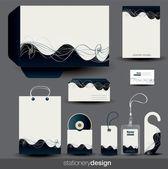 Briefpapier-design-set — Stockvektor