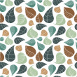 Royalty-Free Stock Vector Image: Abstract leaf pattern