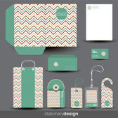 Stationery design set — Vecteur