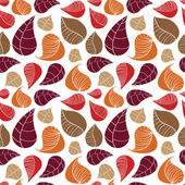 Abstract leaf pattern — Vector de stock