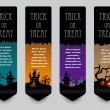 Royalty-Free Stock Vector Image: Vertical banner concept for Halloween