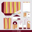 Stationery design set — Stock Vector #14050464