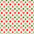 Retro Christmas pattern — Stock Vector