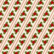 Retro Christmas pattern — Vector de stock