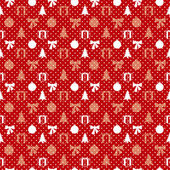 ретро рождество шаблон — Cтоковый вектор