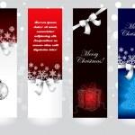 concepts de bannière de Noël — Vecteur #16221835