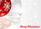 Okładka pozdrowienie świąteczne — Wektor stockowy