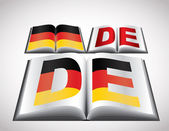 National Flag concept of Germany — Stock Vector