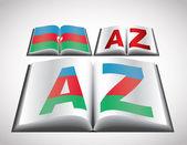 национальная концепция флаг азербайджана — Cтоковый вектор