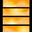 Orange hather concepts — Image vectorielle