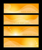 Orange hather concepts — Stock Vector