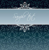 Royal vintage cover — Stock Vector