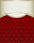 Couverture vintage royale — Vecteur