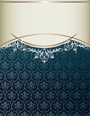 Royal capa vintage — Vetor de Stock
