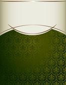 Královské vinobraní obal — Stock vektor